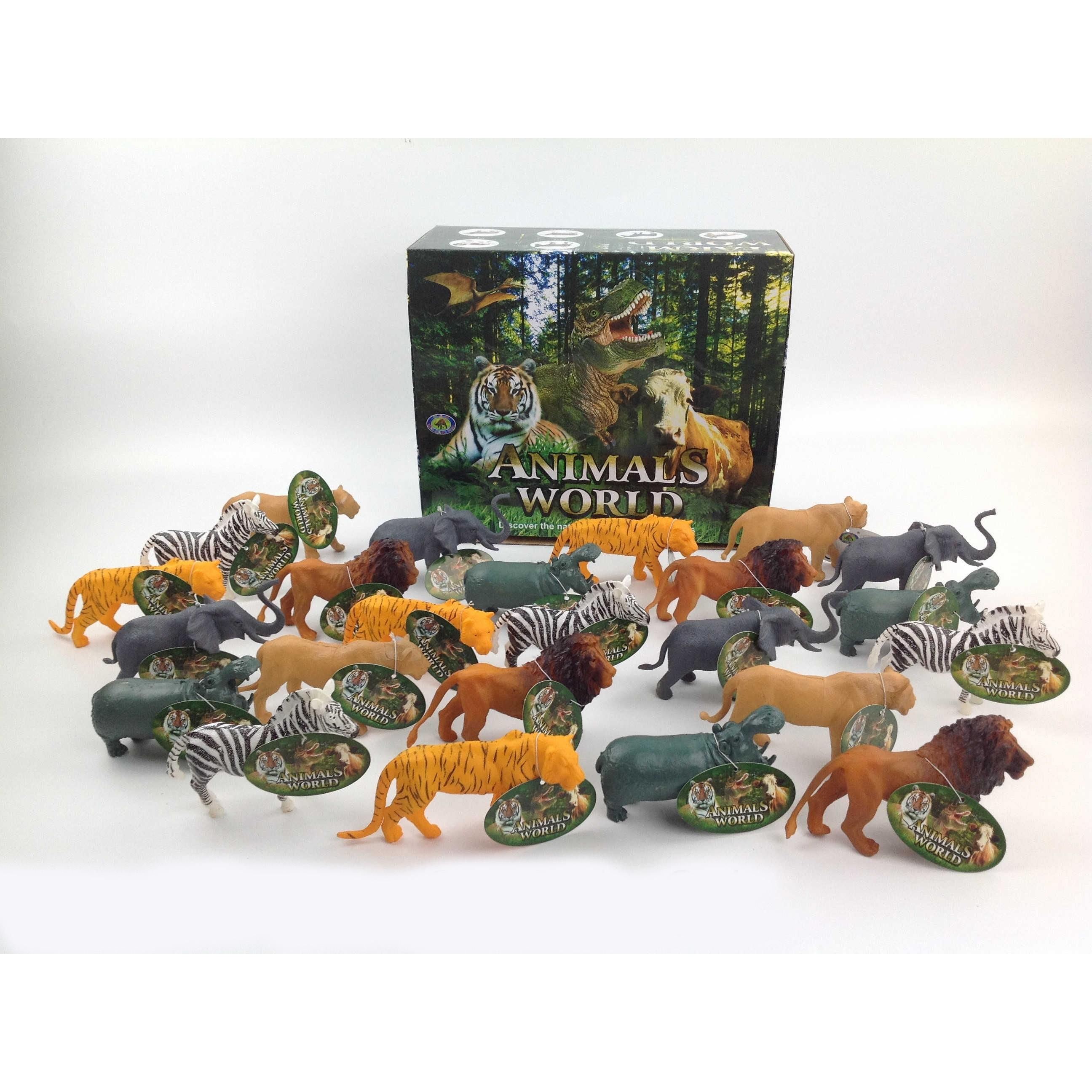 Display c/ 24 Animais Selvagens